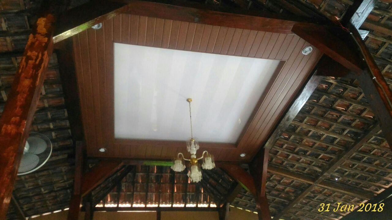Kreasi Rumah Joglo dengan Shunda Plafon